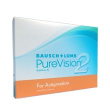 Purevision 2 HD for Astigmatism 3 Lenses per case